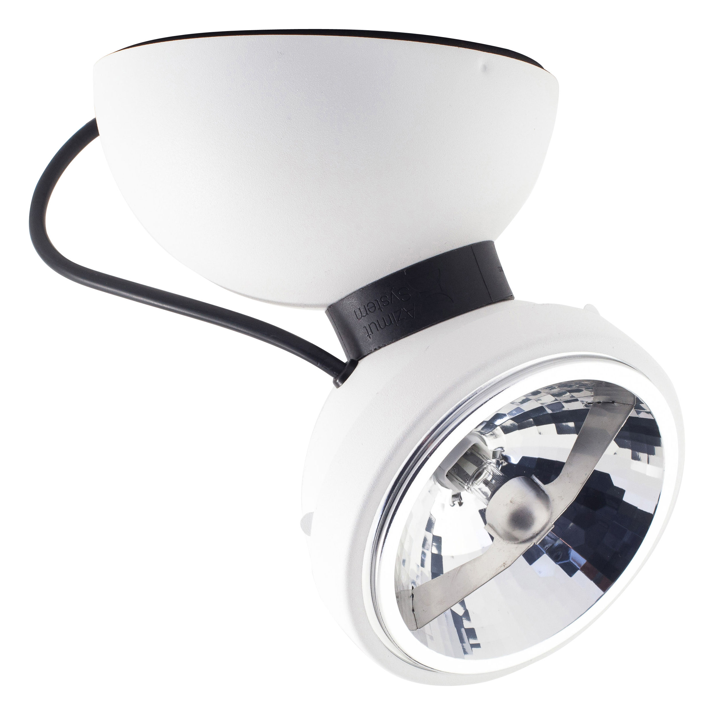 Lighting - Wall Lights - Monopro 360° Wall light - Ceiling light by Azimut Industries - White - Lacquered metal