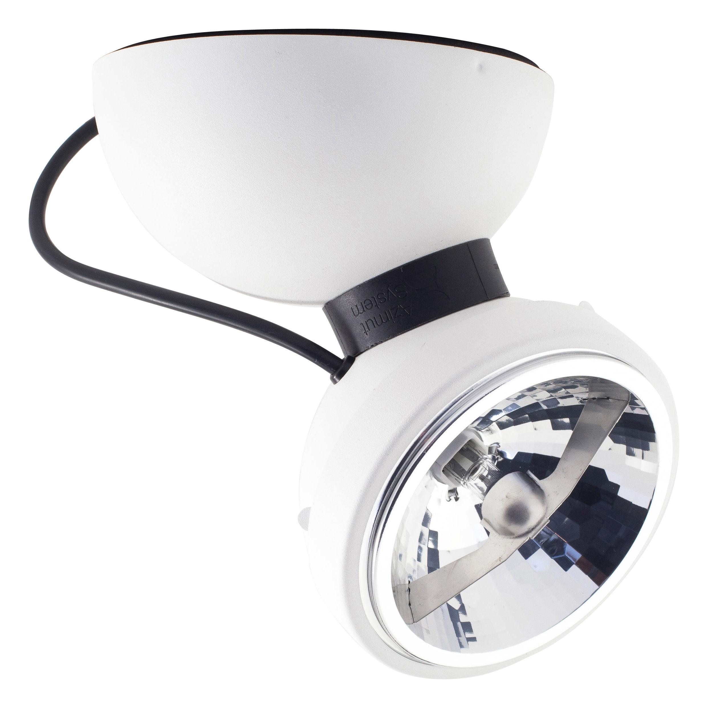 Leuchten - Wandleuchten - Monopro 360° Wandleuchte Deckenleuchte - Azimut Industries - Weiß - lackiertes Metall