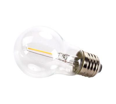 Ampoule LED E27 transparente à filaments / 0,5W - Pour guirlande Bella Vista CLEAR - Seletti transparent en verre