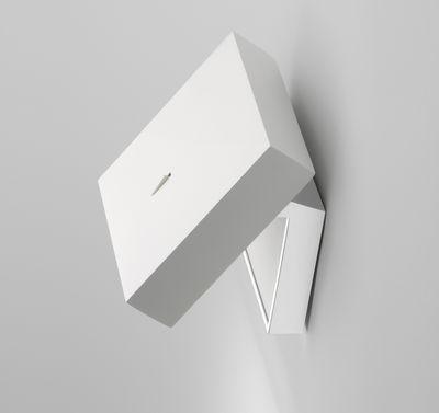 Illuminazione - Lampade da parete - Applique Alpha - LED di Vibia - Bianco - Metacrilato, Metallo