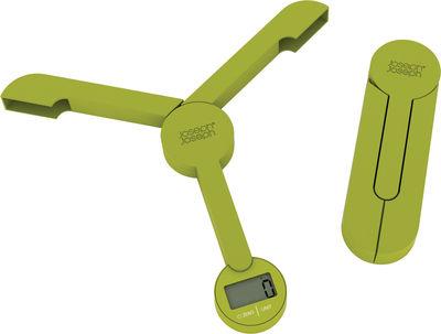 Balance de cuisine électronique TriScale / pliable - Joseph Joseph vert en matière plastique