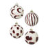 Bauble - / Set of 4 - Hand-painted glass by Ferm Living