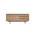 Shadow Dresser - / Solid oak L 180 cm / 2 doors & 3 drawers by Ethnicraft