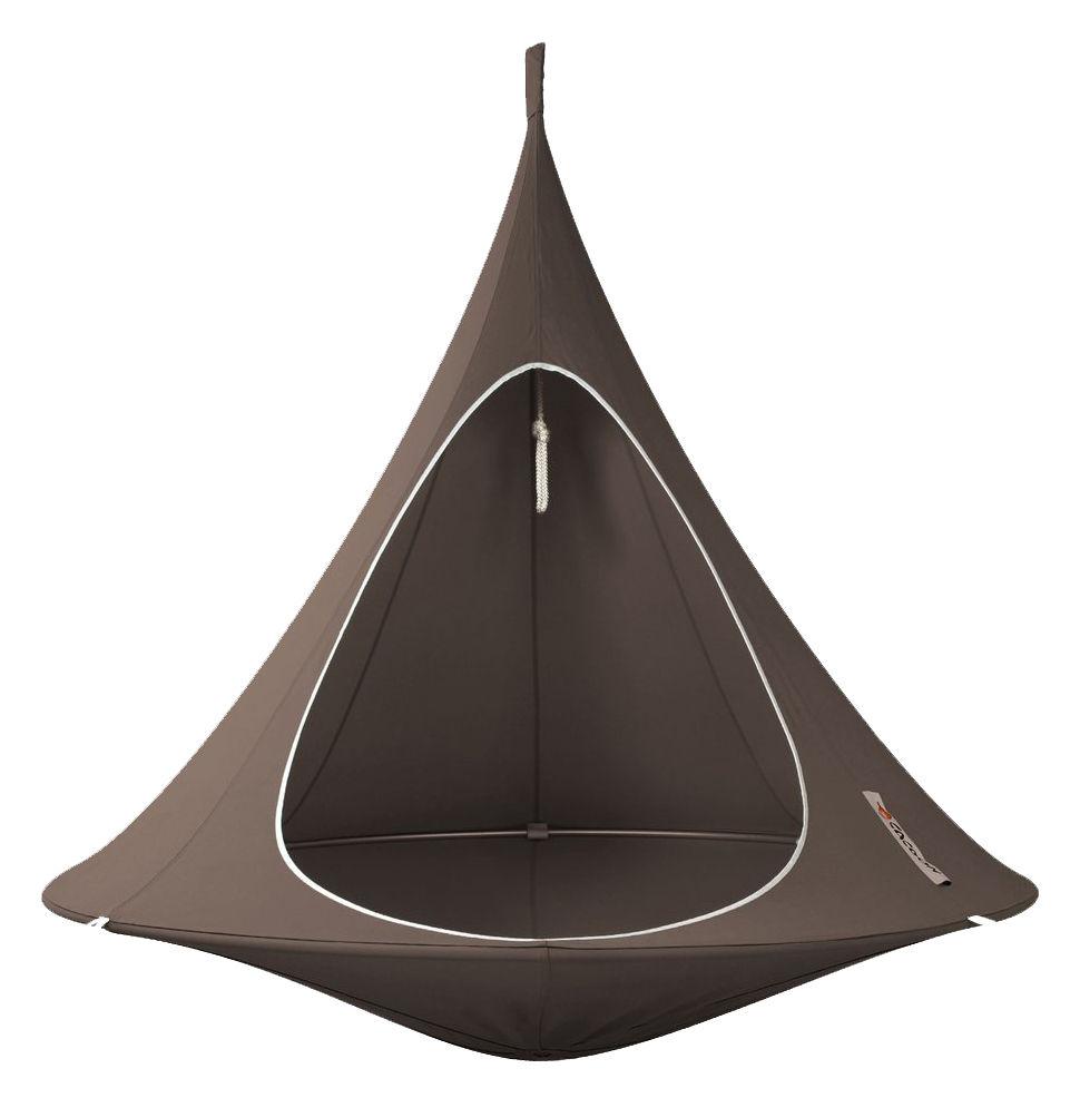 Jardin - Chaises longues et hamacs - Fauteuil suspendu / Tente - Ø 180 cm - 2 personnes - Cacoon - Taupe - Toile
