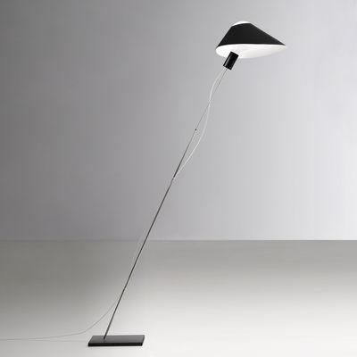 Lampadaire Glatzkopf / Papier - Ingo Maurer noir en papier