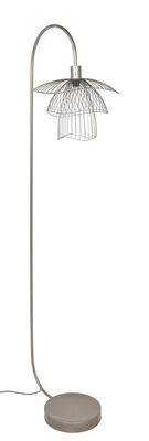 Lampadaire Papillon / H 150 cm - Forestier cuivre rose en métal