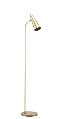 Lampadaire Precise / H 124 cm - House Doctor laiton en métal