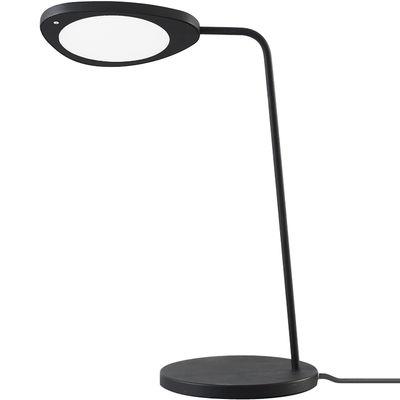 Lampe de table Leaf / LED - Métal - Muuto noir en métal