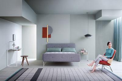 Letto Matrimoniale Design.Letto Matrimoniale Hotel Royal Con Piano Per Materassi 160 X 200 Di Zanotta