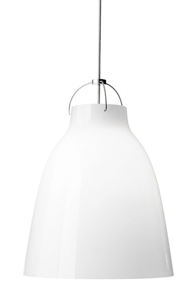 Lighting - Pendant Lighting - Caravaggio XS Pendant by Lightyears - White - Ø 11 cm - Mouth blown glass