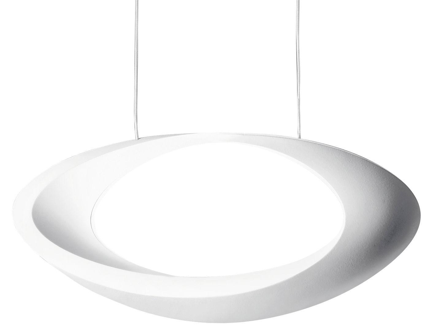 Leuchten - Pendelleuchten - Cabildo LED Pendelleuchte - Artemide - Weiß - bemaltes Aluminium