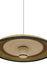 Grass XL Pendelleuchte / Ø 100 x H 24 cm - Handgeflochtener Manilahanf - Forestier