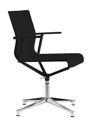 ICF | Poltrona girevole Stick Chair sedia a 4 razze Seduta