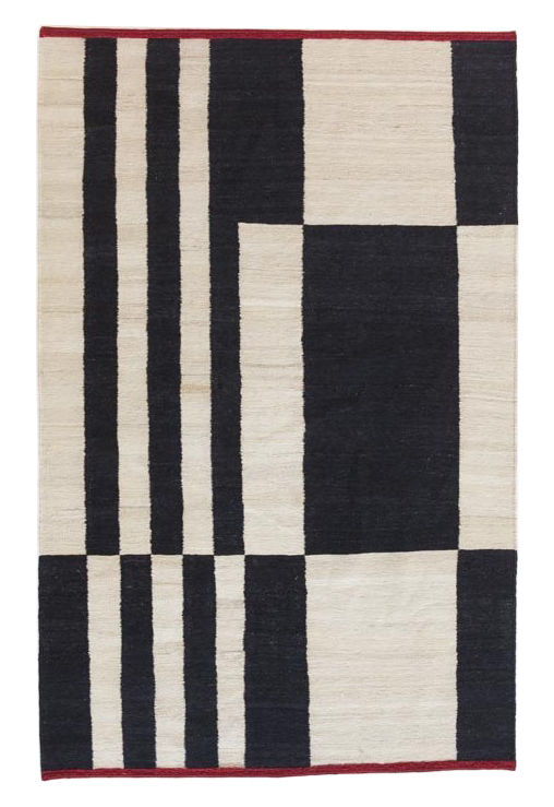 Decoration - Rugs - Mélange - Stripes 1 Rug - 170 x 240 cm by Nanimarquina - 170 x 240 cm / Stripes and squares - Afghan wool