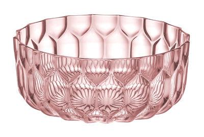 Saladier Jellies Family / Ø 32 cm - Kartell rose en matière plastique