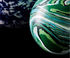 Swirl Ball Scented candle - / Spherical lid - Ø 10 x H 16 cm by Tom Dixon