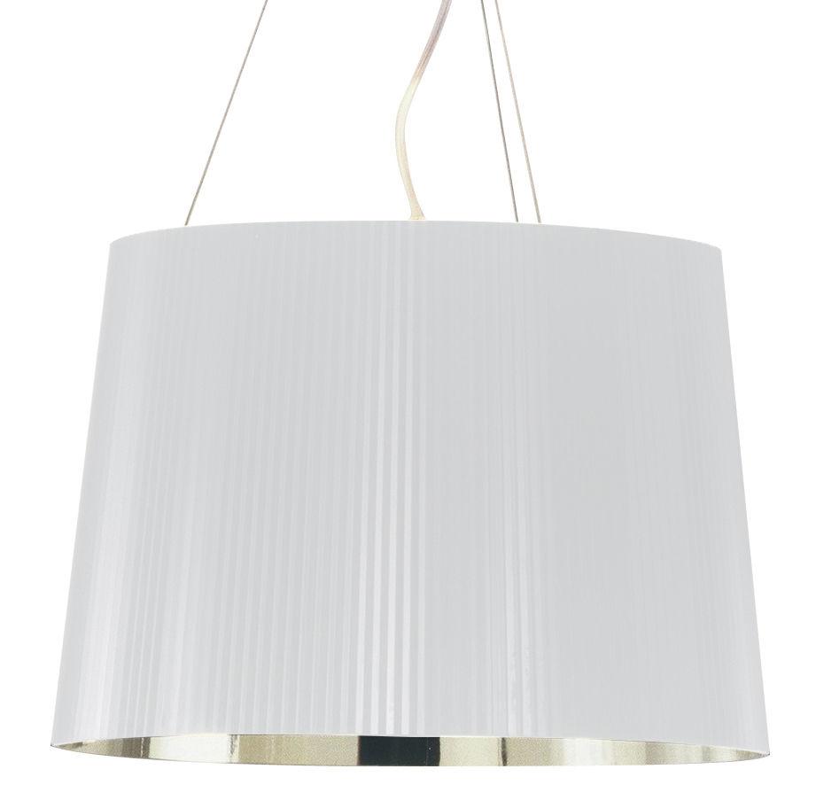 Illuminazione - Lampadari - Sospensione Gé Or di Kartell - Bianco/Oro - policarbonato