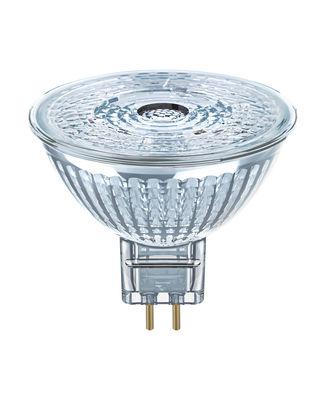 Spot LED GU5.3 dimmable / MR16 LED 36° - 5W=35W (4000K, blanc froid) - Osram transparent en verre