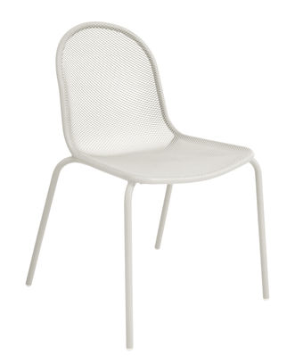 Furniture - Chairs - Nova Stacking chair - / Metal by Emu - White - Varnished steel