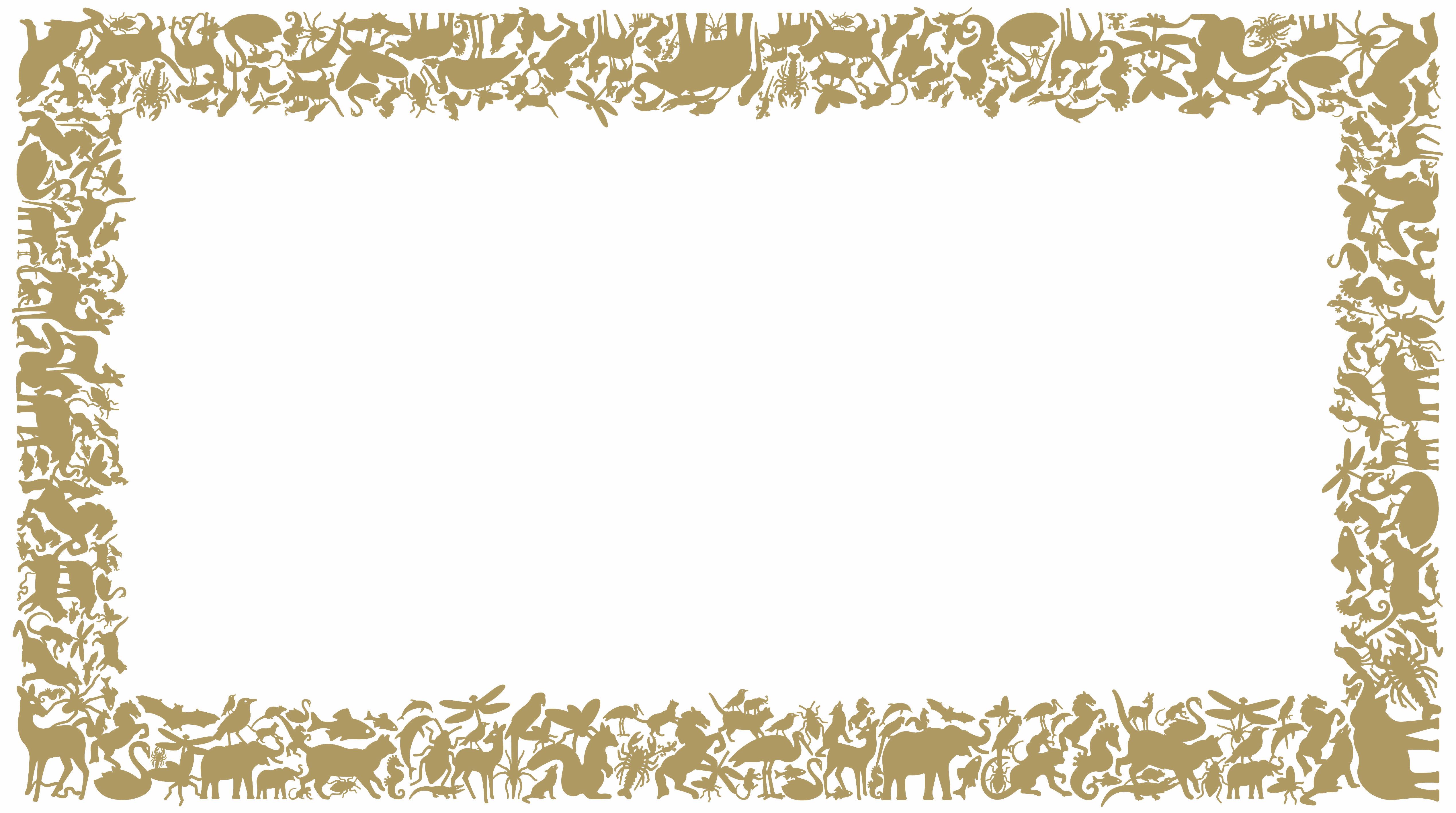 Interni - Sticker - Sticker Panthéon Rectangle di Domestic - Oro - Vinile