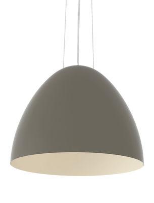 Suspension Plume / Ø 86 cm - Fibre de verre - Slide gris-beige en matière plastique
