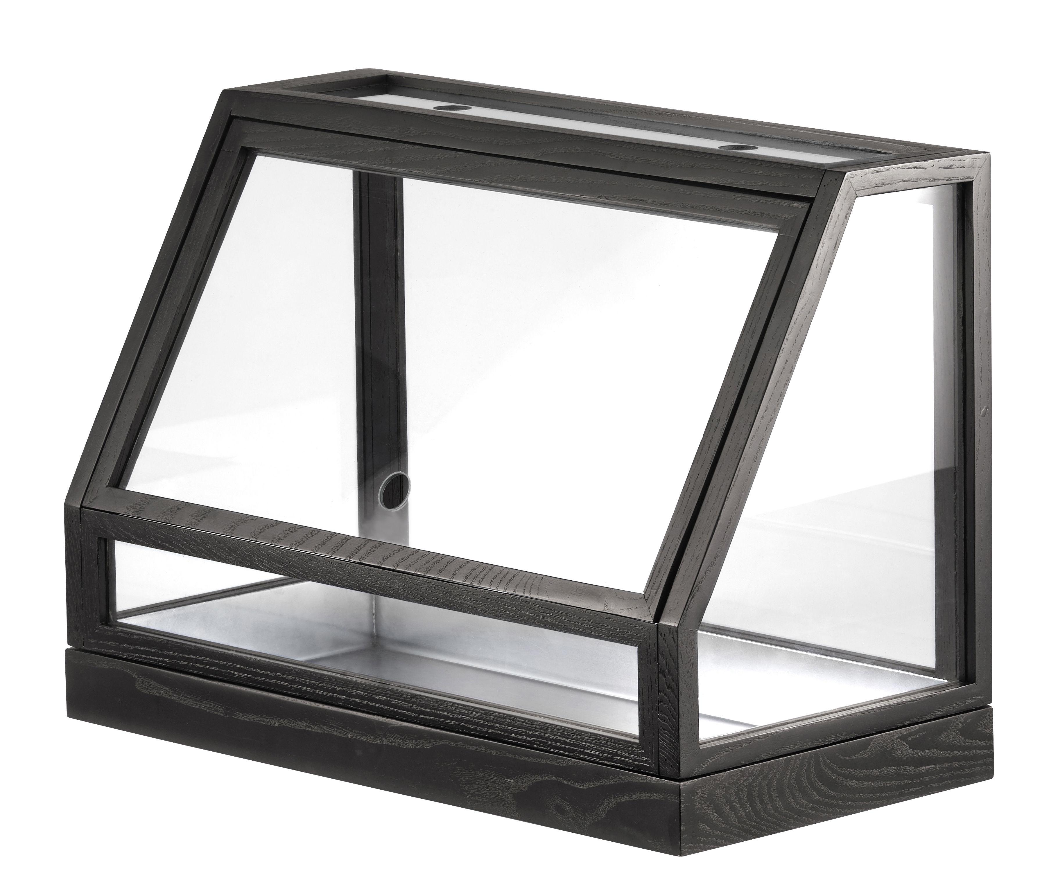Greenhouse Mini Terrarium L 50 X H 40 Cm Grey By Design House