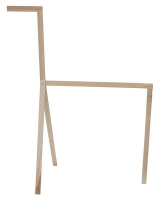 Furniture - Coat Racks & Pegs - Cavallino Large Towel rail - / H 108 cm by Valsecchi 1918 - Ash valet / H 105 cm - Ashwood