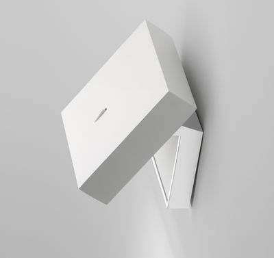Lighting - Wall Lights - Alpha Wall light by Vibia - White - Metal, Methacrylate