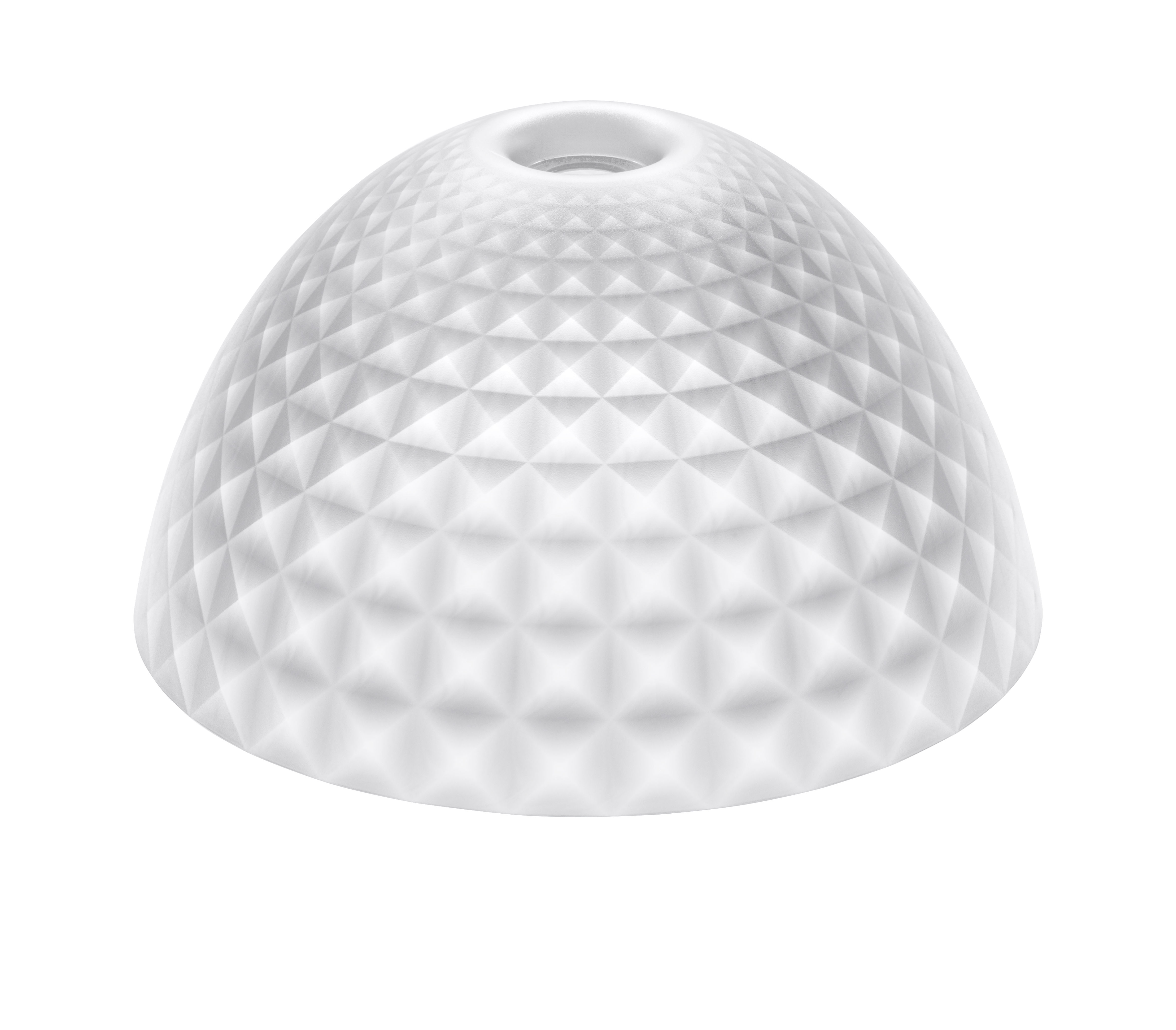 Luminaire - Suspensions - Abat-jour Stella  Medium / Ø 43,5 cm - Koziol - Transparent - Polyéthylène