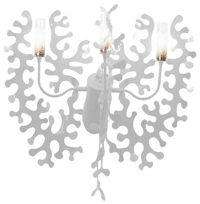 Applique Coral - Lumen Center Italia blanc en métal