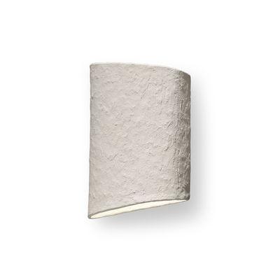Luminaire - Appliques - Applique Earth / Papier mâché recyclé - L 31 x H 45 cm - Serax - Blanc -  Papier mâché recyclé