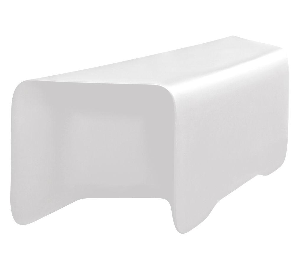 Mobilier - Bancs - Banc lumineux Nova / Sans fil RGB - Modulable - L 117 cm - MyYour - Blanc - Plastique Poleasy ®