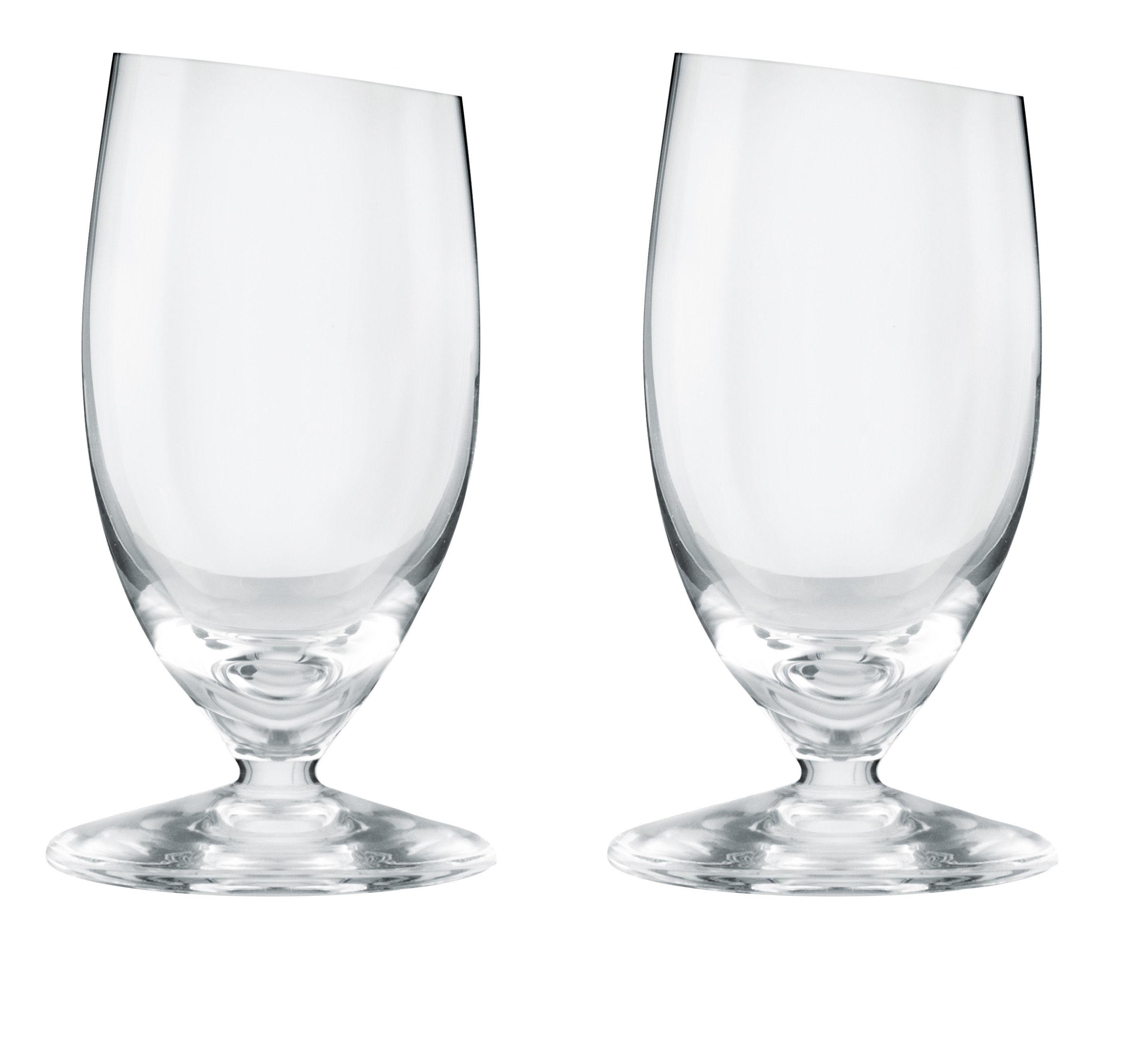 Tavola - Bicchieri  - Bicchiere da liquore - / Set da 2 - 4 cl di Eva Solo - Trasparente - Vetro soffiato a bocca