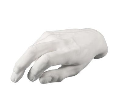 Déco - Objets déco et cadres-photos - Décoration Memorabilia Mvsevm / Main masculine - Seletti - Main homme / Blanc - Porcelaine