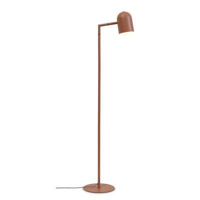 Lighting - Floor lamps - Marseille Floor lamp - / Adjustable - H 141 cm by It's about Romi - Terracotta - Iron