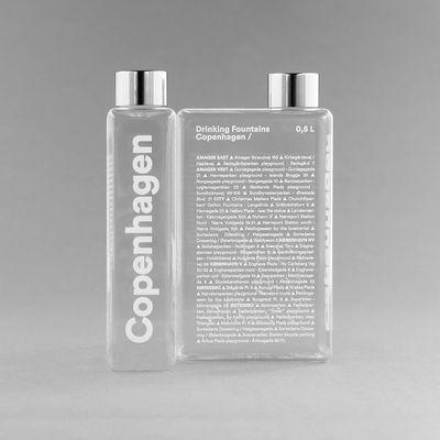 Arts de la table - Carafes et décanteurs - Gourde Phil - Copenhagen / Bouteille nomade plastique écologique - 500 ml - Palomar - Copenhagen - Aluminium, Plastique écologique