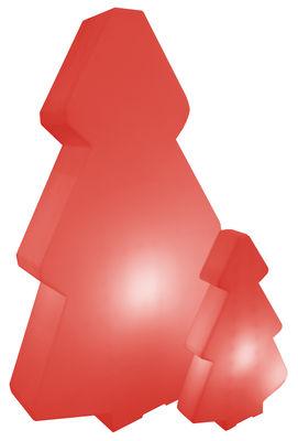 Arredamento - Mobili luminosi - Lampada a stelo Lightree Indoor - per l'interno di Slide - Rosso-interno - polietilene riciclabile