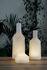 Lampada senza fili Alabast Small - LED - / H 11 cm - Alabastro OUTDOOR di Carpyen