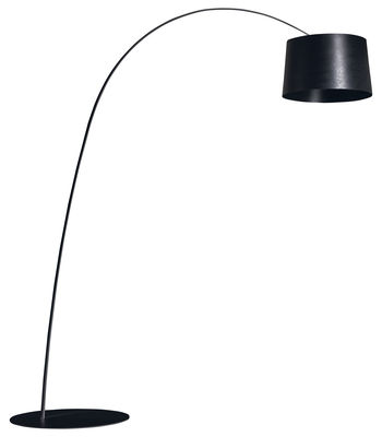 Lampadaire Twiggy - Foscarini noir en matière plastique