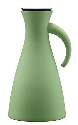 Pichet isotherme 1L / Ø 15,5 x H 29 cm - Eva Solo vert botanique en matière plastique
