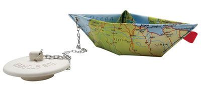 Decoration - Funny & surprising - O Mon Bateau Géographie Plug by Pa Design - Geography - Plastic cloth