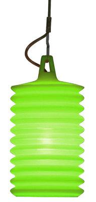 Luminaire - Suspensions - Suspension Lampion pour l'intérieur - Rotaliana - Vert - Silicone