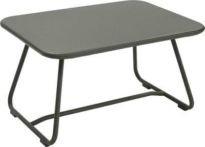Table basse Sixties / Acier - 75 x 55 cm - Fermob romarin en métal