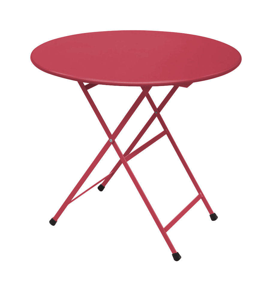 Table pliante Arc en Ciel / Ø 80 cm - Emu