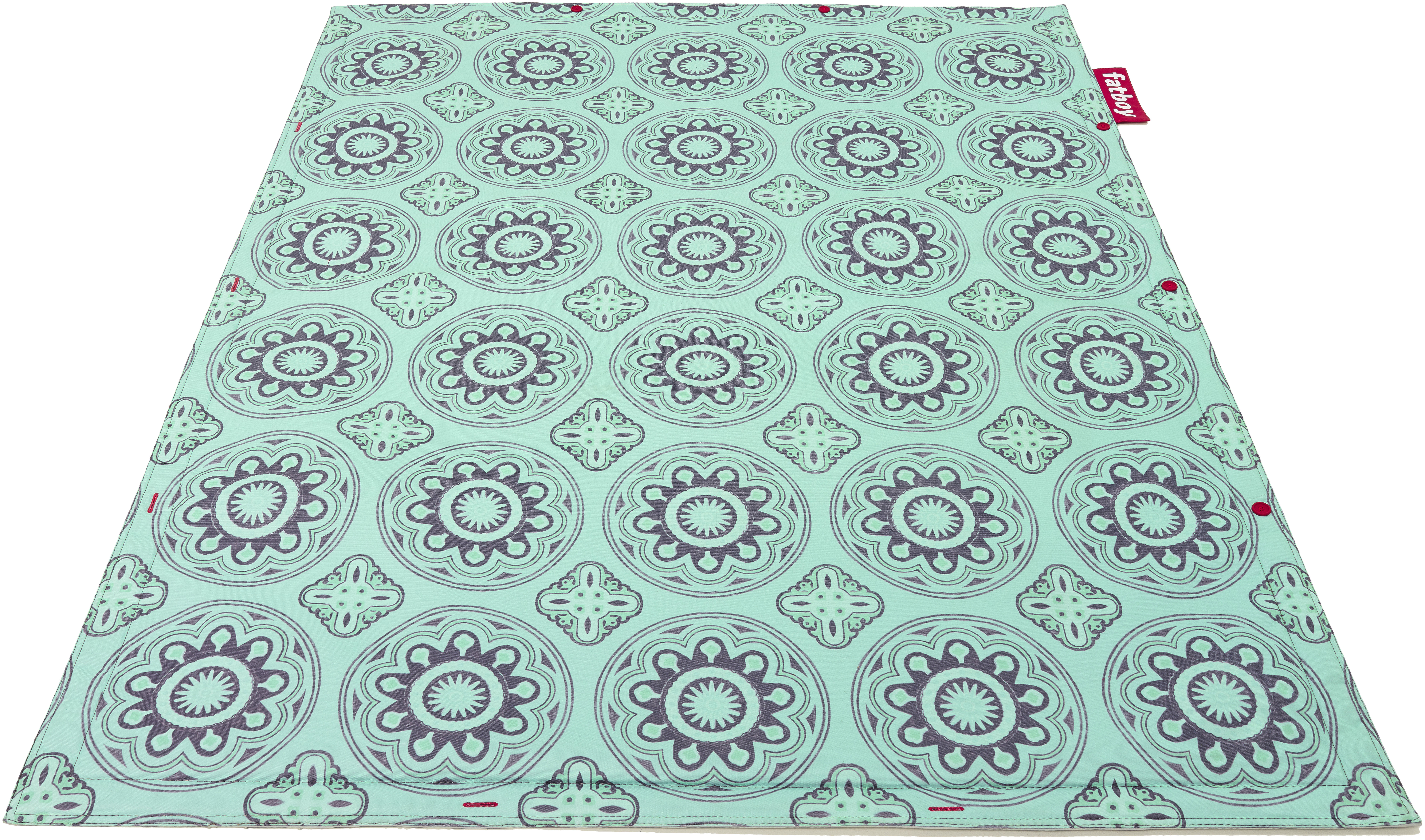 tapis dextrieur flying carpet outdoor 180 x 140 cm casablanca turquoise fatboy made in design - Tapis Exterieur