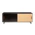 Essence Television table - / L 140 x H 42 cm - Wood & rattan by Maison Sarah Lavoine