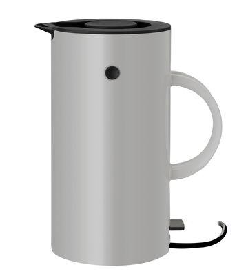 Küche - Teekannen und Wasserkessel - EM77 Wasserkocher / 1,5 l - Stelton - Hellgrau - Plastique ABS