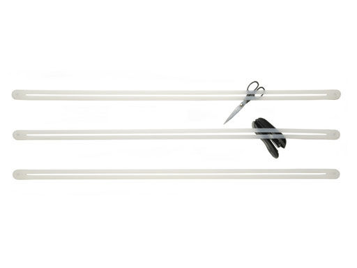 Dekoration - Spaßig und ausgefallen - Strap Ablage Wandaufbewahrung - droog - Weiß - Kautschuk