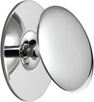 Applique Back 1 LED / Ø 10,3 cm - Flos chromé en métal