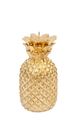Bougie Ananas / H 13,5 cm - Sunnylife or en cire